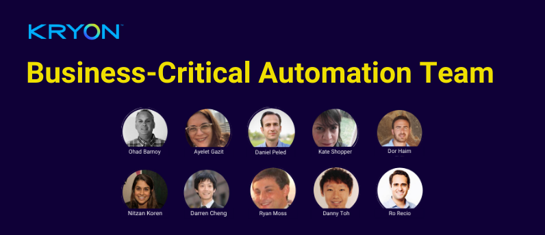Business-Critical Automation Team