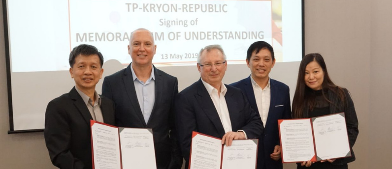 Kryon and Temasek Polytechnic partnership