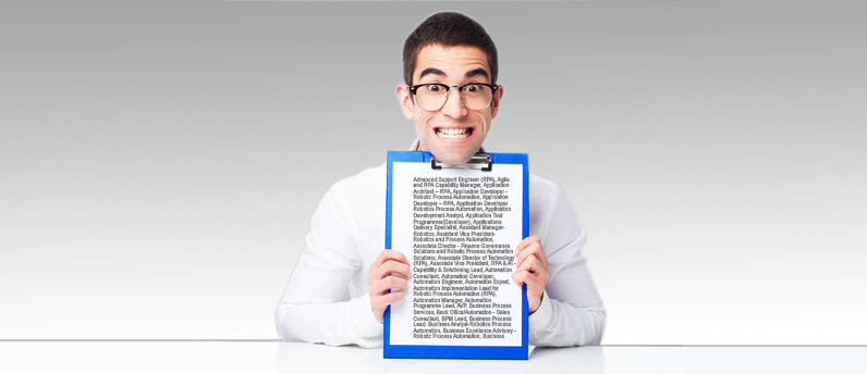 A Really Long List of Jobs Coming Your Way Thanks to RPA