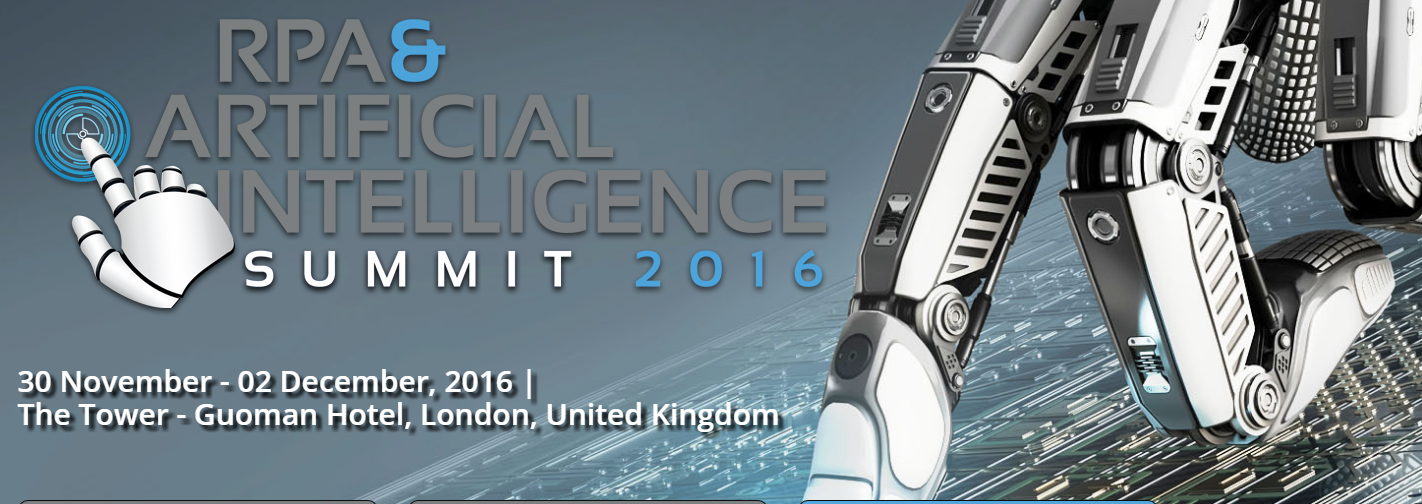 Are you ready for the 4th Industrial Revolution? Join us at the RPA & AI Summit to find out.